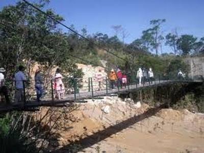 Cầu Treo Bà Nà giai đoạn mới