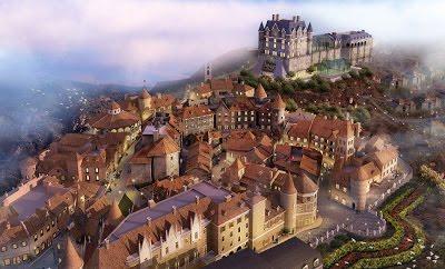 Mô hình làng Pháp Bà Nà