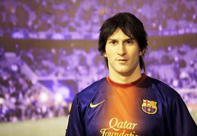 Tượng Sáp Messi