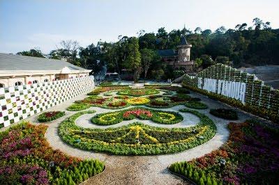 Vườn hoa Bà Nà